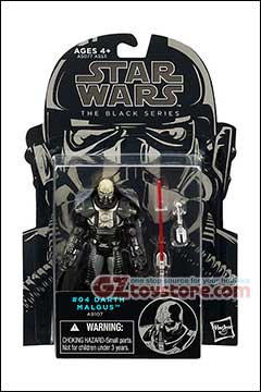 Star Wars Black Series #04 Darth Malgus Figure