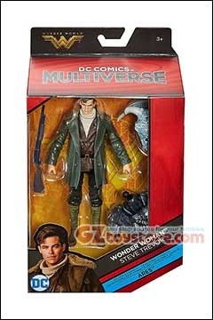 bb20b3d26ab Mattel » DC Comics Multiverse » 6 inch Figures » Mattel - DC Comics  Multiverse Wonder Woman Movie 6-Inch - Steve Travor • GZtoystore.com - Action  Figures