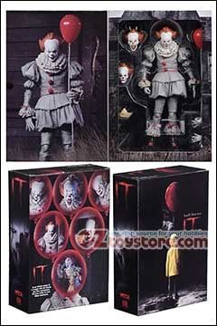 IT Pennywise Ultimate Action Figure by NECA NEW