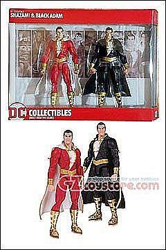 DC Collectibles DC Essentials Shazam and Black Adam Action Figure Captain Marvel