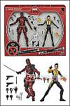 Hasbro - X-Men Marvel Legends - Deadpool and Negasonic Teenage Warhead 2-Pack