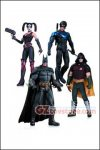 DC Collectibles - Batman Arkham City 4-Pack - Batman, Harley Quinn, Nightwing and Robin 7""