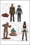 McFarlane Toys - The Walking Dead TV Series 7: Set of 4