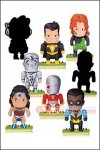 "DC Collectibles - Scribblenauts Unmasked Blind Boxes 2.25"" Mini Figures Series 6 Case of 18"