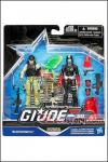 Hasbro - GI Joe 50th Anniversary Versus Two Pack Wave 3 Exclusive: Hunt for Cobra Commander