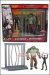 "Mattel - DC Comics Multiverse 4"" Arkham City - Nightwing and Killer Croc 2-pack"