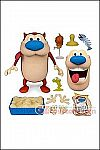Super 7 - The Ren and Stimpy Show - Stimpy 7-Inch Deluxe Figure