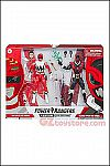 Hasbro - Power Rangers Lightning Collection Lost Galaxy Red Ranger and In Space Psycho Red Ranger 2-
