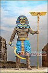 NECA - Iron Maiden Pharaoh Eddie 8-inch Clothed Action Figure