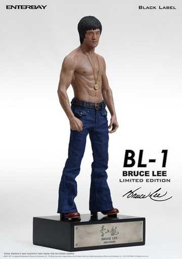 Enterbay - Black Label BL-1 Bruce Lee 1/6 Scale Statue