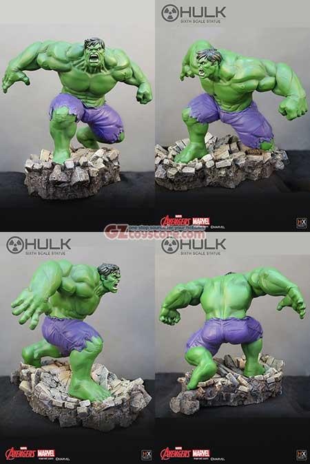 XM Studios / HX Project - Avengers Assemble: Hulk Sixth Scale Statue