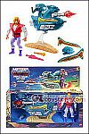 Mattel - Masters of the Universe Origins - Prince Adam and the Sky Sled