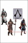 McFarlane - Assassin's Creed Series 3 - Set of 4