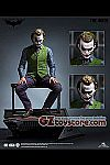 Queen Studios - The Dark Knight Trilogy - The Joker 1/3 Scale Statue - Regular (Scuplted Hair)